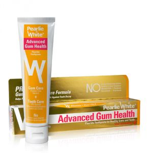 Pearlie White Advanced Gum Health Fluoride Toothpaste (4.6oz) 130g (imported)