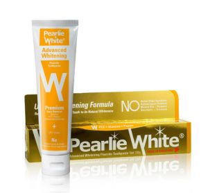 Pearlie White Advanced Whitening Fluoride Toothpaste (4.6oz) 130g (imported)
