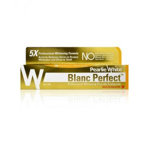 Pearlie White Blanc Perfect Professional Whitening Toothpaste (3.8oz) 110g (imported)