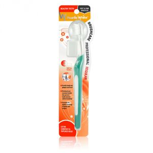 Pearlie White Brushcare Professional Regular Soft Toothbrush (green)
