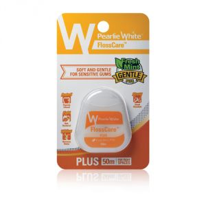Pearlie White Flosscare Plus Ptfe Mint Floss (50 Meters) (imported