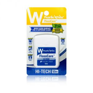 Pearlie White Hi-tech Floss Mint Waxed (50 Meters)
