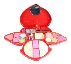 Babble Color Series 12-eyeshadow, 2-blusher, 4- Powder Cake,2- Blusher, 2- Glitter Golden, Silver, 1- Eye Brow Pencil With 2 Brushes