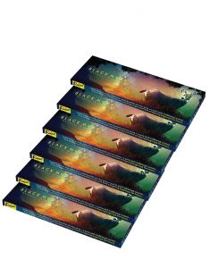 Rajpal Black Perfumed Fragrance Natural Incense Stick (50gram)(code-rajpal004)