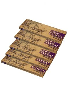Rajpal Brown Premium Hand Rolled Fragrance Natural Incense Stick (50Gram)(Code-Rajpal013)