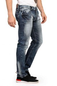Men's Wear - Mr. Stag Men's Cello Blue Denim Jeans (Code - JEANS NJ002)