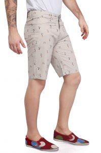 Shorts (Men's) - Mr. Stag Men's Occur Printed Cotton Shorts (Code - SHORTS NG007)