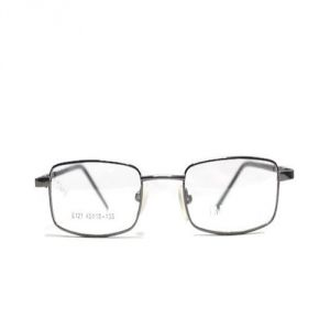 Affable Rectangle 48 MM Black Full-rim Unisex Spectacle Frame - A328