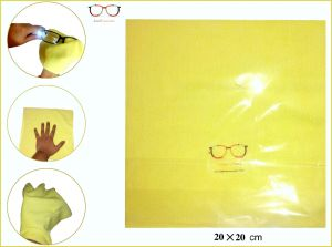 Eye Care - Microfibre Yellow Cleaning Cloth