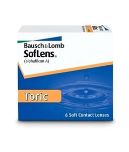 Soflens Toric Monthly Disposable Contact Lens (6 Lens)