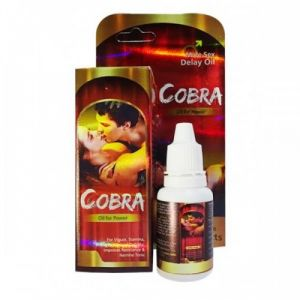 COB Man's Massage Oil Pack of 4 Bottle Man's Time Delay Oil