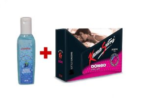 India Deal Combo Offer 1 Bottle Lubricant 66ml With K S Pack Of 3 Piece