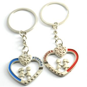 Faynci Love Forever Couple Gift With Cute Bite Pair Boyfriend Girlfriend Key Chain
