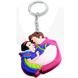 Faynci Love Couple Bride & Groom Designer Silicone Key Chain