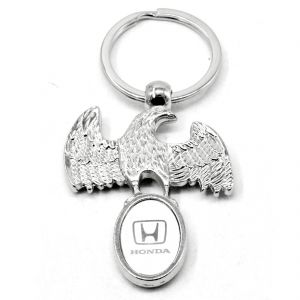 Faynci Superior High Quality Design Eagle Honda Logo King Key Chain For Honda Lover