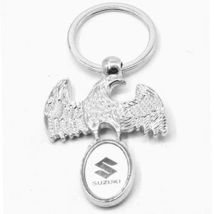 Superior High Quality Design Eagle Suzuki Logo King Key Chain For Suzuki Lover
