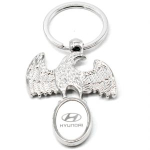 Faynci Superior High Quality Design Eagle Hyundai Logo King Key Chain For Hyundai Lover