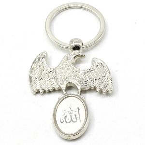Faynci New Fancy Muslim Islamic Eagle Allah Key Chain Gifting For Ramadan, Eid