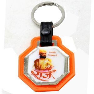 Faynci Chatrapati Shivaji Raje Key Chain For Gifting And Proud