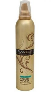 Nova,Alba Botanica,Estee Lauder,Globus,Dove,Brut Personal Care & Beauty - Nova Firm Hold Mousse Hair Styler