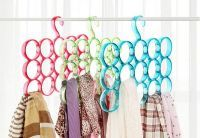 Home Utility Furniture - Buy 1 Get 1 Free Round Plastic Scarf Hanger 15 Holes For Scarves/ties/belts