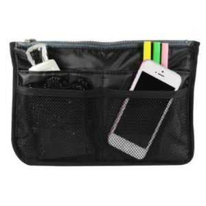 Gadgetbucket Polyester Black Multi Pocket Organizer-black