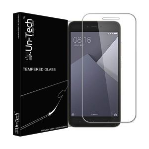 Un-tech Redmi5a Tempered Glass Screen Protector With Installation Kit