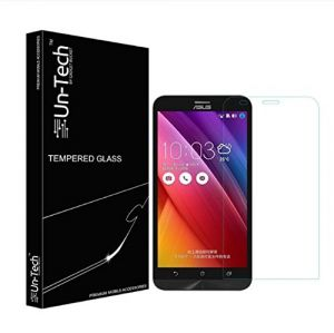 Un-tech Asus Zenfone 2 Tempered Glass Screen Protector With Installation Kit