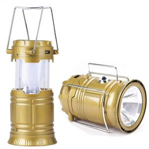 Solar, Lithium Battery Travel Camping Lantern