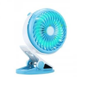 Un-tech 4 Blades Rechargeable USB Mini Portable Air Cooling Fan