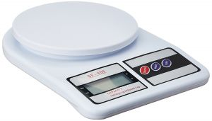 Gadgetbucket Electronic Kitchen Digital Weighing Scale, Multipurpose (white, 10 Kg)