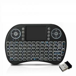 Gadgetbucket I8 Touchpad Mouse Multi-media Portable Handheld Blacklight Smart Keyboard