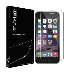 Un-tech Tempered Glass Screen Protector For iPhone 7/7s With Installation Kit