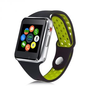 Untech M3 Smart Watch Full Touch Screen Bluetooth With Sim Card Slot/memory Card (green)