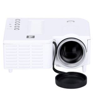 Projectors - UnTech Projector with USB and Inbuilt Speakers UC-28 Mini Projector (White)
