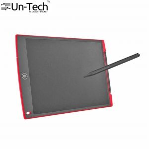 Untech 12 Inch Ruffpad E-writer LCD Writing Notepad (red)