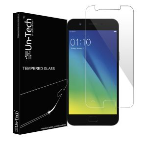 Un-tech Tempered Glass For Oppo A57, Screen Protector ||screen Guard||smudge Free