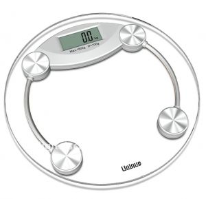 Ergode 8mm Thick Tempered Digital Health Body Weighing Scale
