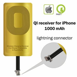 Untech Wireless Charging Receiver For Apple iPhone 5-5c- Se- 6-6 Plus- 7-7 Plus- iPhone