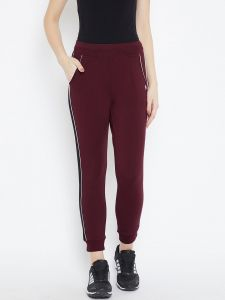 C9 Airwear Womens/girls Strechable Legging-original Fine Fabric (code - C1507_maroon)