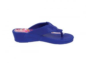 Womens Fashionable Navy Blue Wedges By Kaystar (code - 2113-nblue)