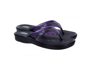 Slippers For Women In Black Color Comfortable Flip Flop For Girls