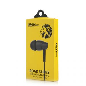 Crazy Ubon Roar Series Grr 663a Big Daddy Bass Universal Series Ear Phone For All Smart Phone And I Phone Devises