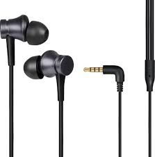 Basic Wired Earphones With Mic ( Black )