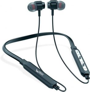 Ubon Cl-15 Ehinic Wireless Neckband Bluetooth Headset With Mic (black, In The Ear)