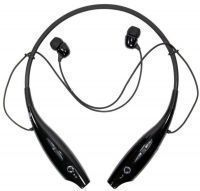 Earphones - LG Tone Hbs-730 Wireless Bluetooth Stereo Headset Black Silver
