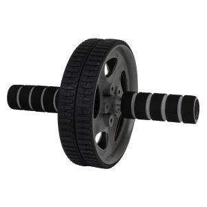 Ab Wheel Roller With Free Mat -black