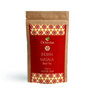 Octavius Indian Masala Black Tea (chai) Loose Leaf 100 Gms