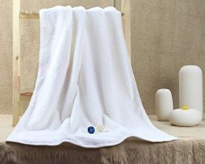 Exclusive White 500gsm Cotton Soft Bath Towel