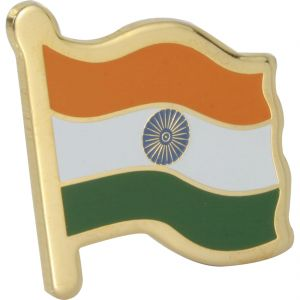Orolyf Indian Flag Lapel Pin